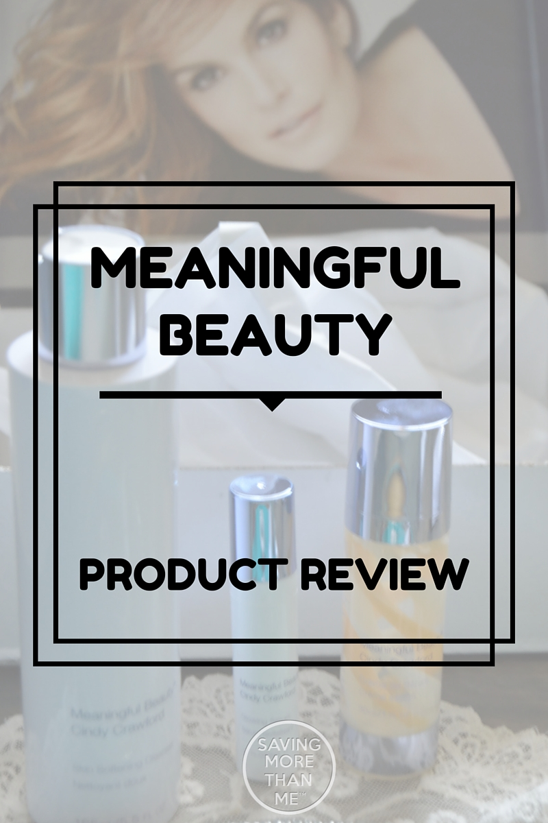 Meaningful Beauty Product Review