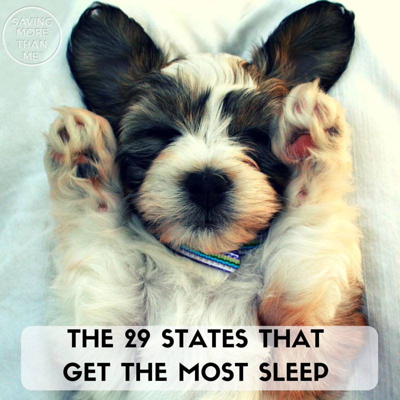 The 29 States That Get The Most Sleep