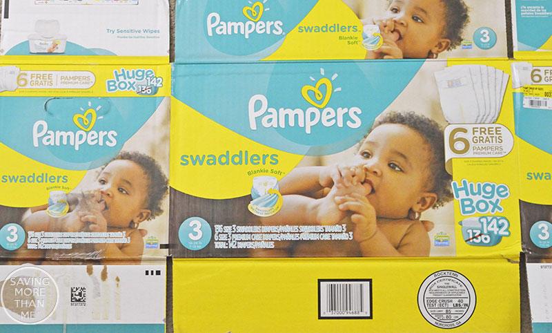 Getting Organized: Household Supplies + DIY Diaper Bin