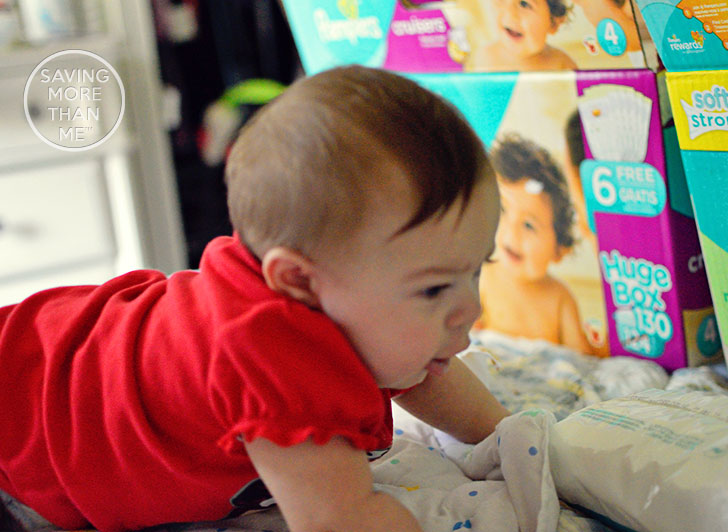 Running Out Of Diapers Is Fun (Said No Mom Ever) @Walmart @SheSpeaksUp #AvoidTheOops ad