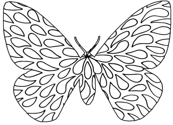 summer freebies butterfly coloring pages clip art and bookmarks savingmorethanmecom - Butterfly Coloring Page