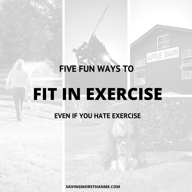 5 Fun Ways To Fit In Exercise (Even If You Hate Exercise) #TenaTips ad