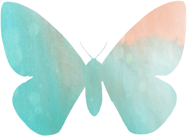 Summer Freebies:  Butterfly Coloring Pages, Clip Art, and Bookmarks savingmorethanme.com watercolor-butterfly-1