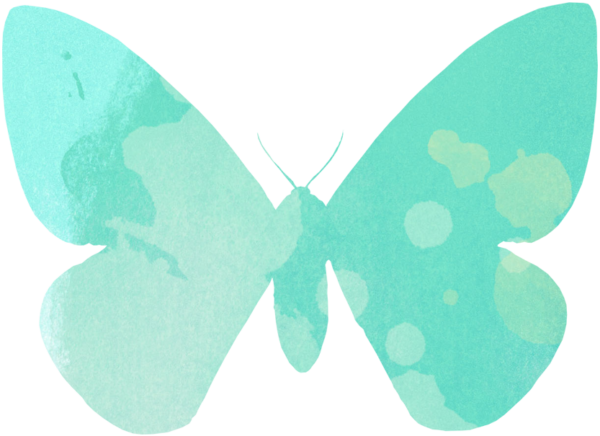 Summer Freebies:  Butterfly Coloring Pages, Clip Art, and Bookmarks savingmorethanme.com watercolor-butterfly-2
