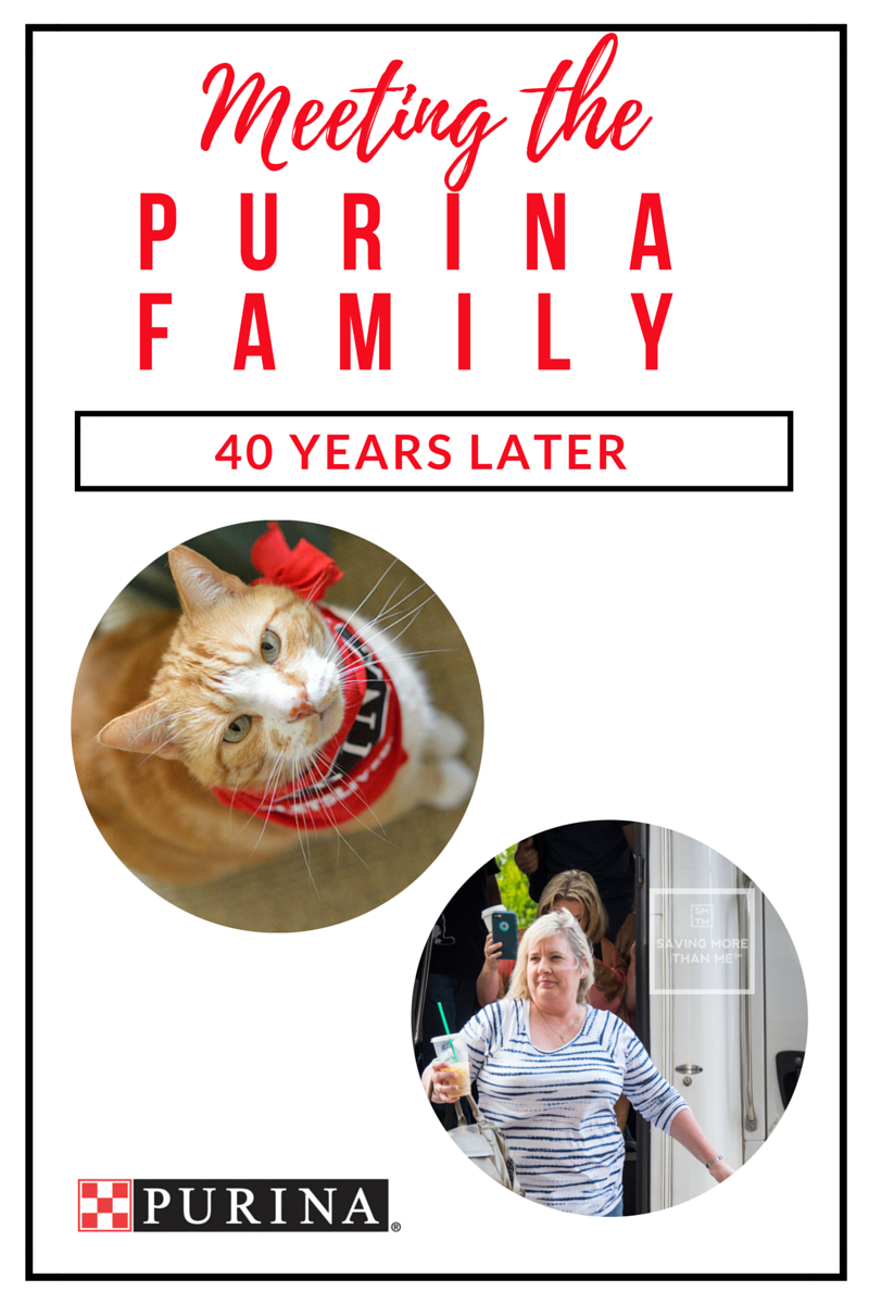 Meeting The Purina Family 40 Years Later #MeetPurina AD @Purina savingmorethanme.com