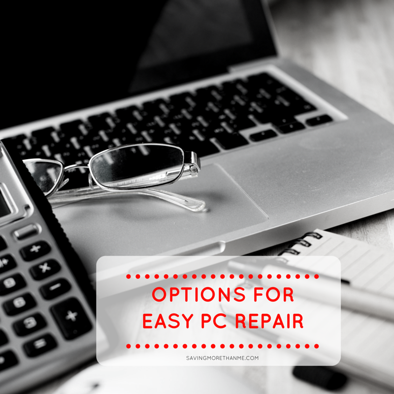 Options For Easy PC Repair #FreshStartMyPC AD
