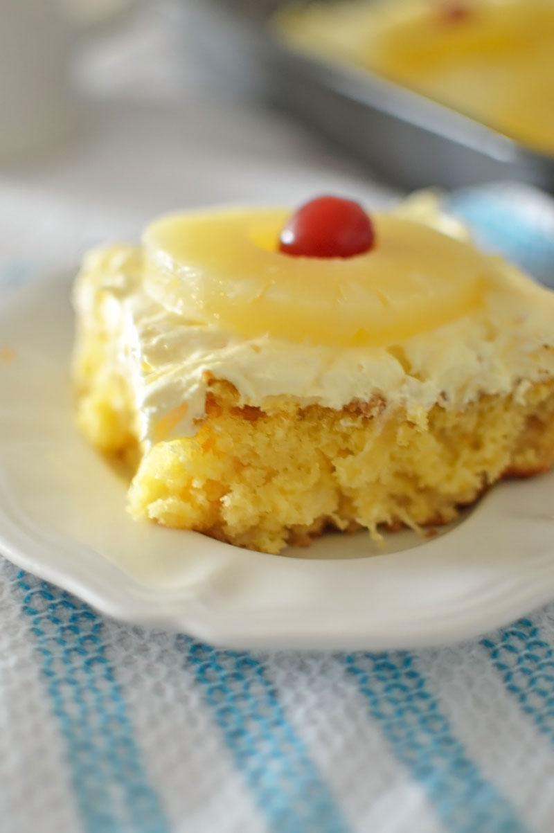 Fancy Yellow Cake Box