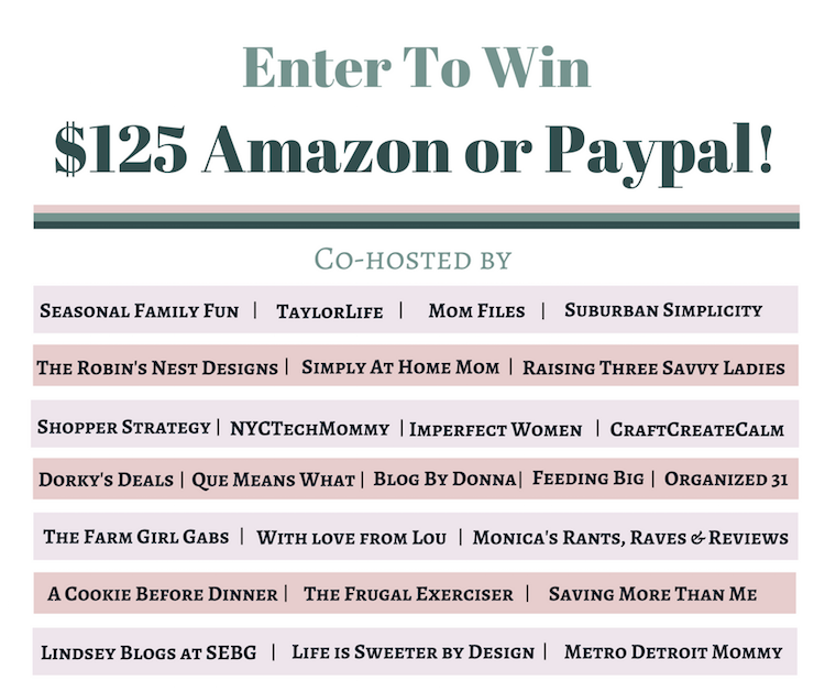 Giveaway: Enter For Your Chance To Win $125 Amazon Gift Card Or PayPal Cash (US)(Ends 10/1/2016)