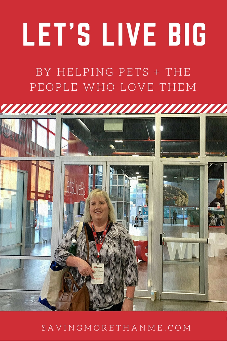 Let's Live Big By Helping Pets + The People Who Love Them @Purina #BetterWithPets AD