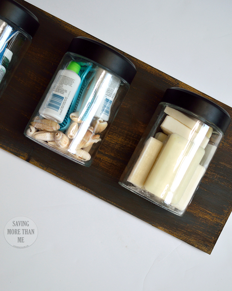 Company's Coming! Get Ready With A DIY Wall Organizer + Bathroom Refresh