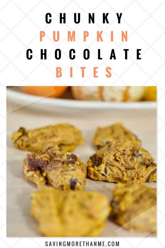 Chunky Pumpkin Chocolate Bites
