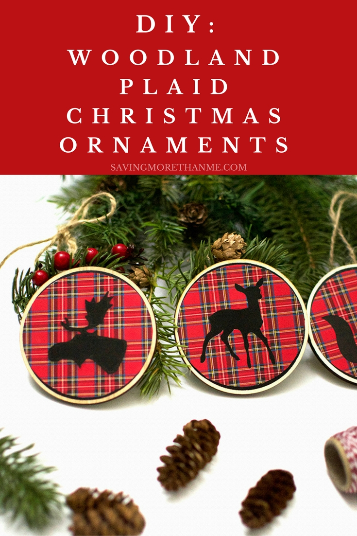 Christmas Gifts and DIY Woodland Ornaments