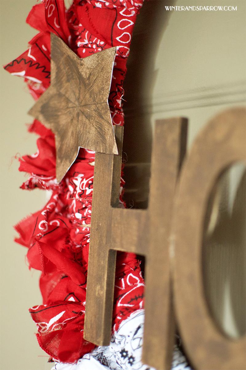 DIY American Decor Wreath