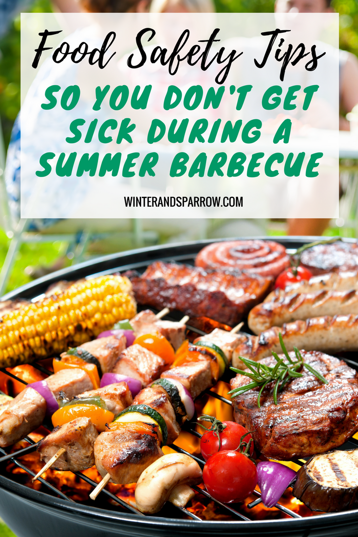 Food Safety Tips So You Don't Get Sick During Barbecue Season (Plus Free Meat Temperature Chart)