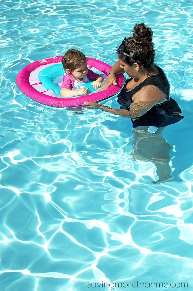 3 Things You Need When Teaching Your Child How To Swim #SwimWays #IC #ad