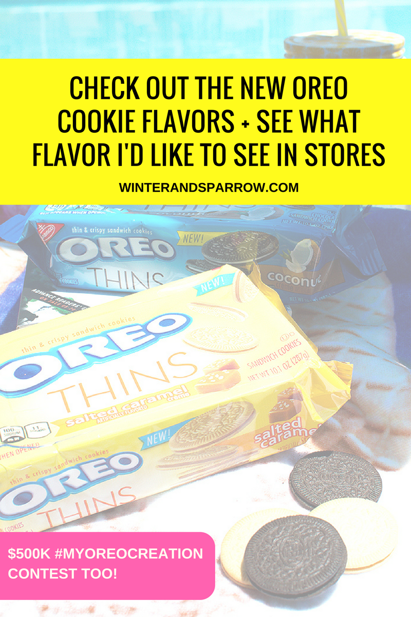 Check Out The New OREO Cookie Flavors + See What Flavor I'd Like To See In Stores #ad #MyOREOCreation @OREO