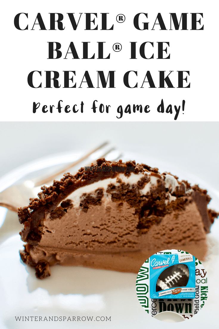 Easy Game Day Eats: Meatball Sliders + Chocolate Football Cake @ILoveIceCreamCakes #ad winterandsparrow.com
