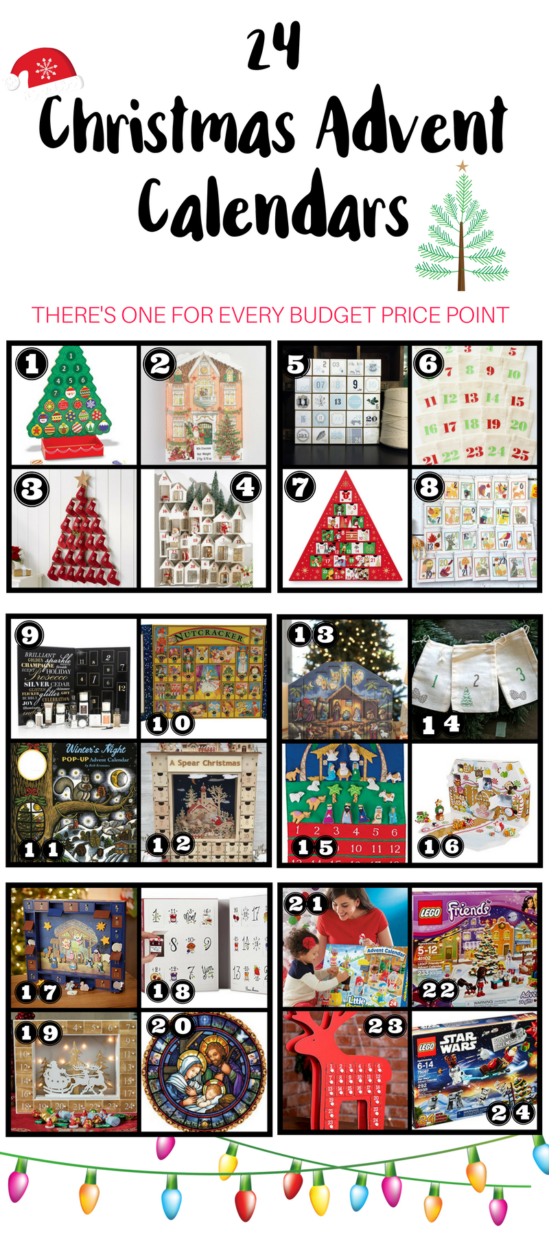 24 Christmas Advent Calendars (One For Every Budget Price Point)