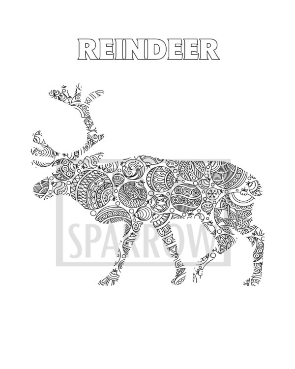 free dear santa letter four christmas coloring pages christmas